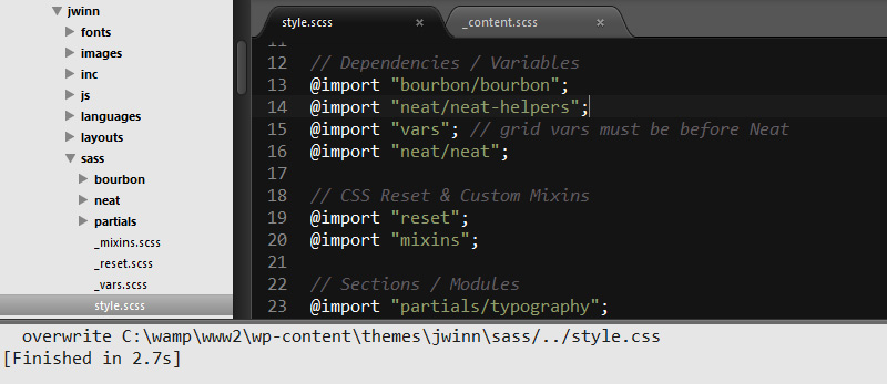 Compile SASS, Sublime Text Windows