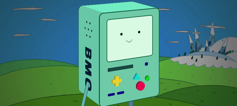 BMO made with CSS in 3D