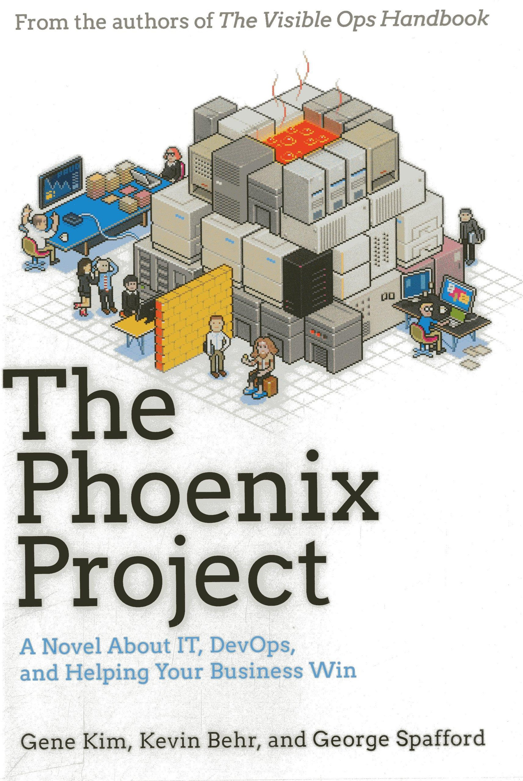 The Phoenix Project [Book Cover]